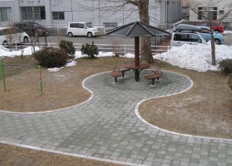 手形街区公園(遊歩道)
