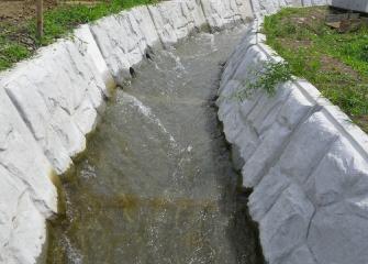 雄勝統合小学校(水路整備)